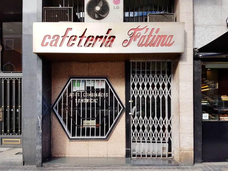 bar fatima madrid no frills