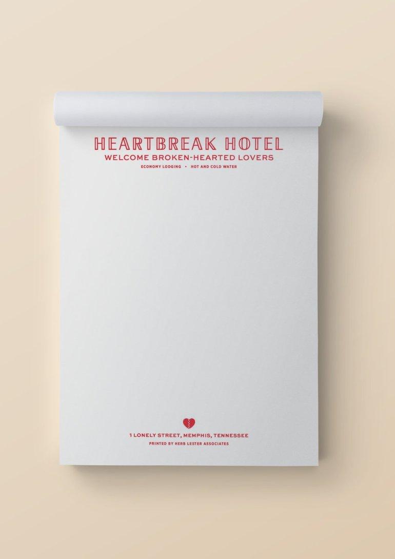 heartbreak hotel movie notepad