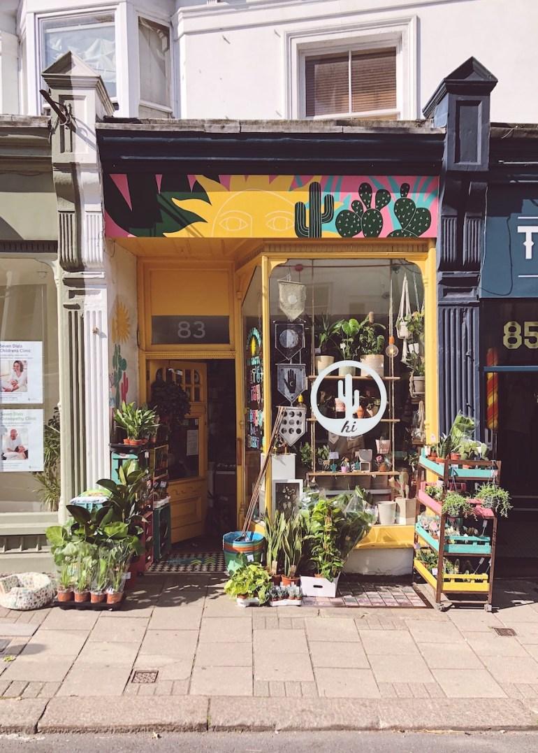 florist shopfront