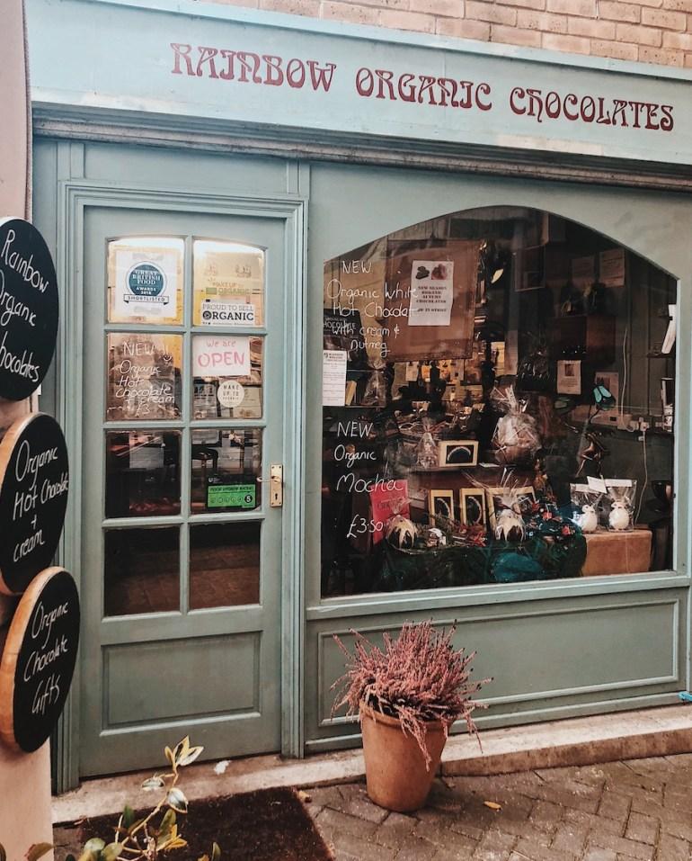 rainbow organic chocolates brighton open market