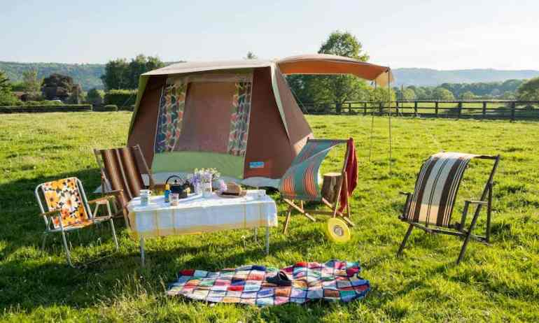 woodier camping near brighton west sussex