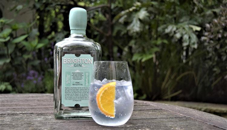 brighton gin distilled by the seaside