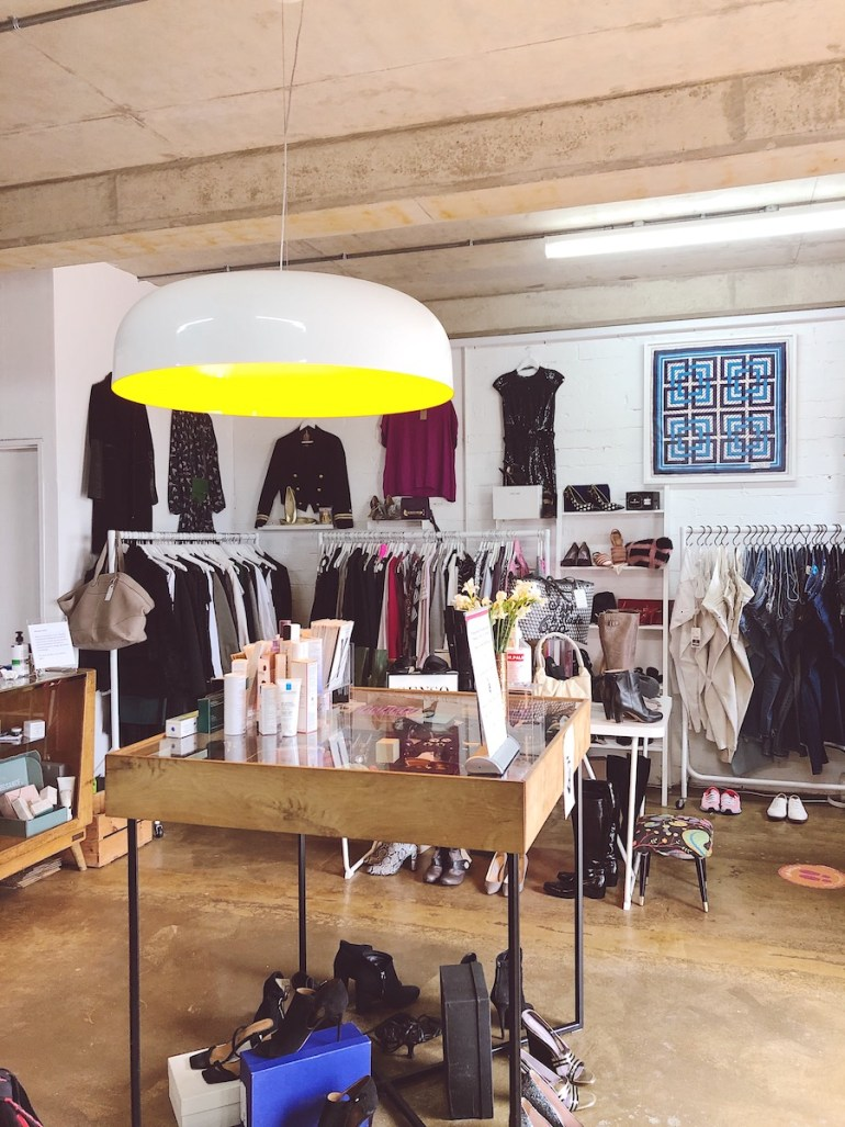 rebound store vintage clothes brighton seafront