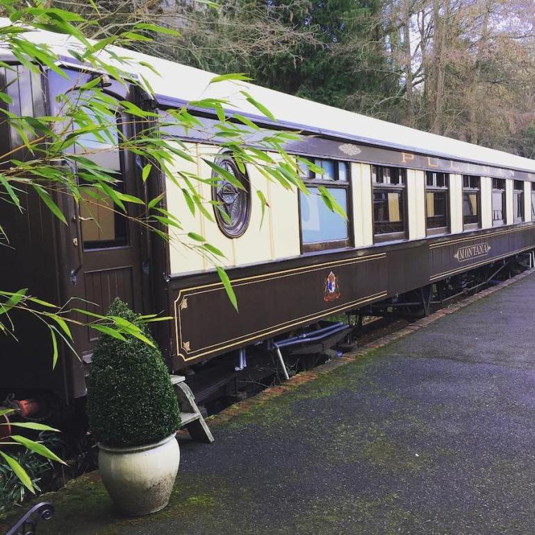 converted pullman carriage bed and breakfast sussex