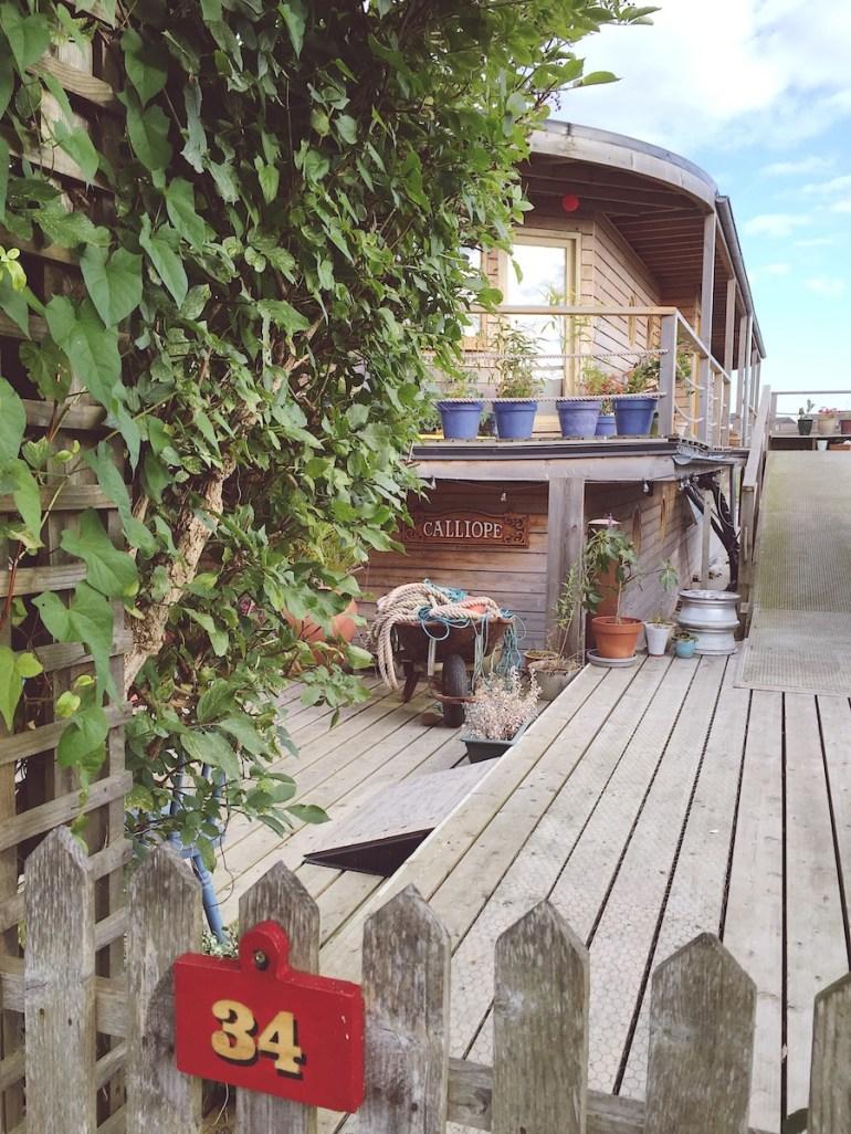houseboats shoreham sussex secret