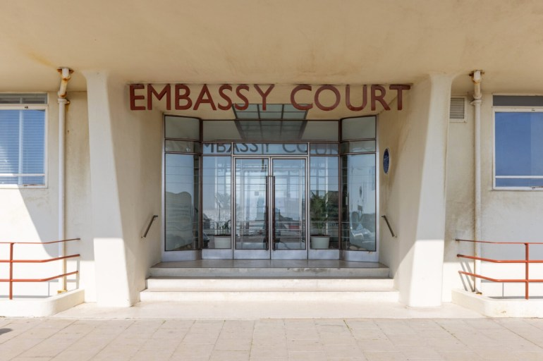 embassy court front doors
