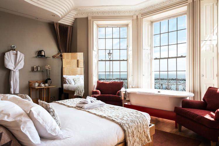 bed facing window