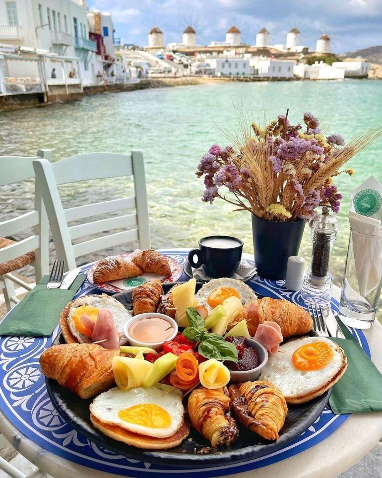 breakfast platter mykonos