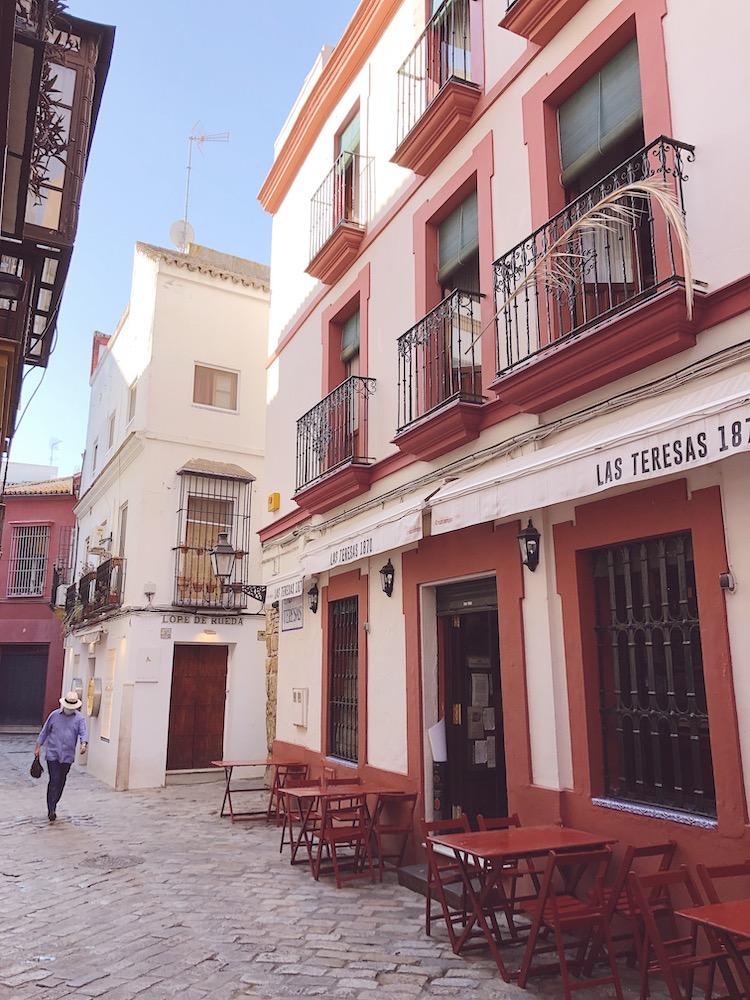 quiet street seville