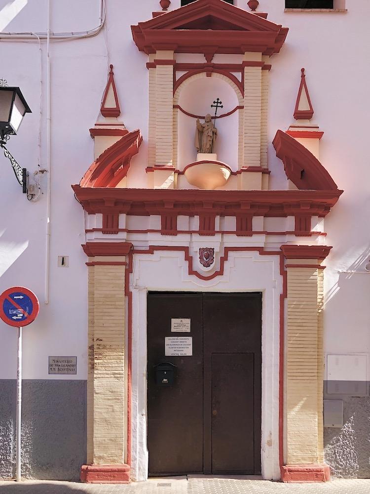 san leandro convent door seville