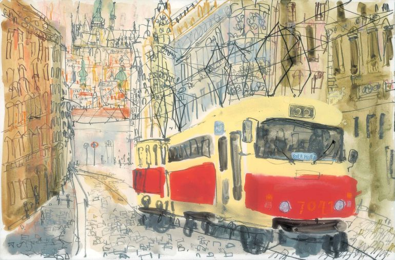 prague illustration