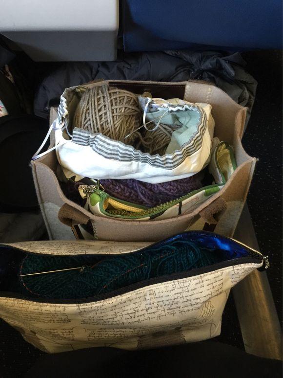 Knitting in Flight