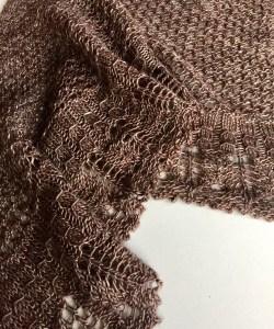 Knit from Elliebelly's Smitten 120