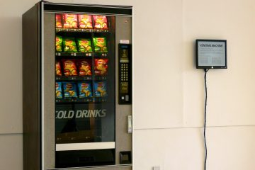 Vending Machine installed at the Viewpoint Gallery, Plymouth College of Art in 2009