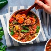 Vegan Quinoa Jambalaya
