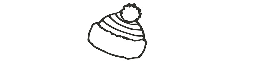 winter hat illustration