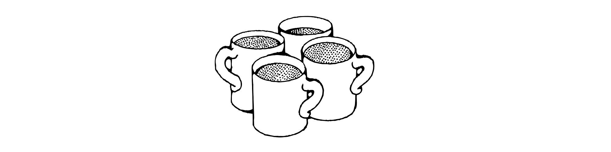 mugs illustration
