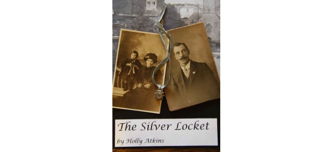 The Silver Locket by Holly Atkins book cover