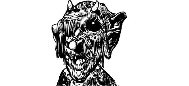 """Monster illustration - """"Where Monsters Lurk"""" short story"""