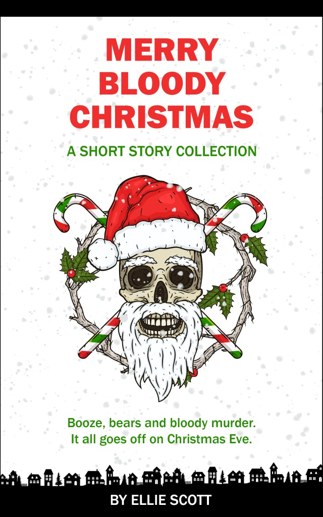 Merry Bloody Christmas by Ellie Scott book cover