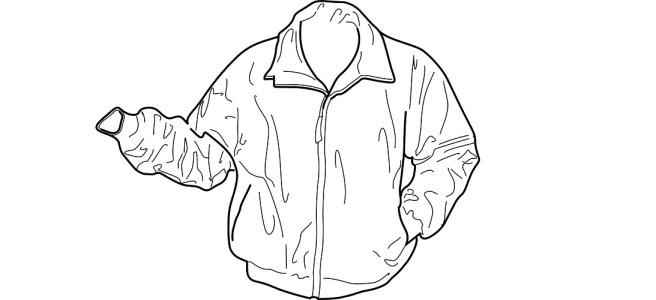"Bomber jacket illustration - ""Wasn't Me"" flash fiction"