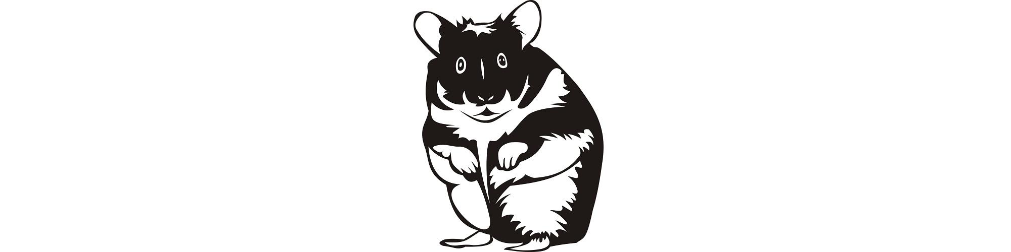 "Hamster clipart - ""Silly Hammy"" microfiction"