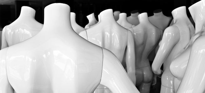 "White mannequins - ""Mannequin Chic"" flash fiction"
