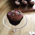 My #CupcakeDay Cupcakes – Chocolate Cloud Frosting