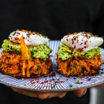 Mob Kitchen Sweet Potato Rösti with Poached Eggs