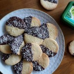 Vegan Coconut & Chocolate Shortbread