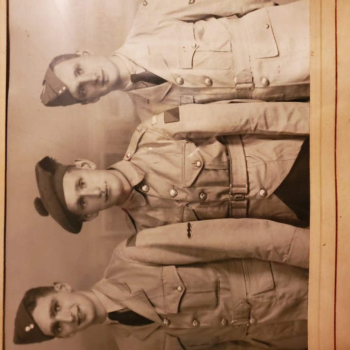 Three Campbell brothers from Montreal