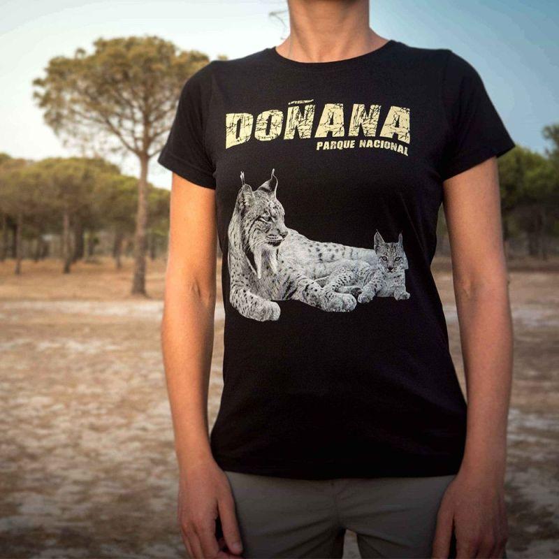 Camiseta lince ibérico Doñana Mujer