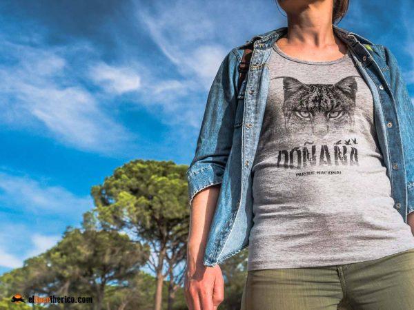 Camiseta Niebla Doñana lince ibérico