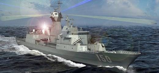 Eπικεφαλής υπερσύγχρονου πολεμικού του αυστραλιανού Ναυτικού