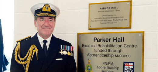 The former British Royal Navy Chief of the Defence Staff