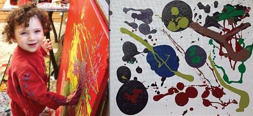 3χρονος αυτιστικός ζωγράφος μιλά μέσα από τα έργα του
