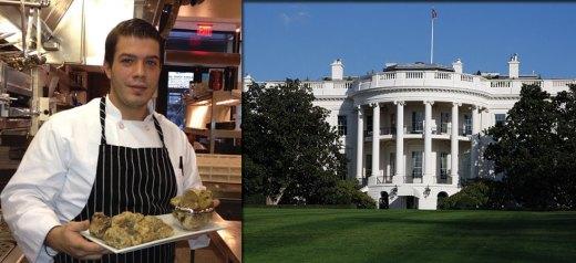 Ο Έλληνας σεφ στην κουζίνα του Λεύκου Οίκου
