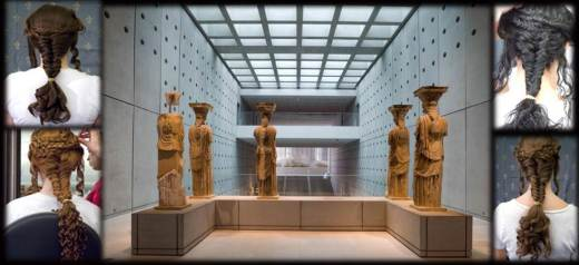 Research: Caryatids' hairstyle is timeless