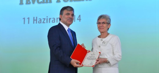 Greek historian awarded by former Turkish President