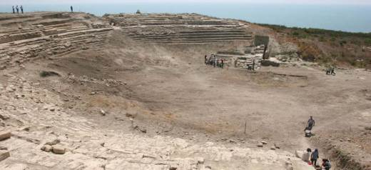 Turkey: Archaeologists found ancient greek theater