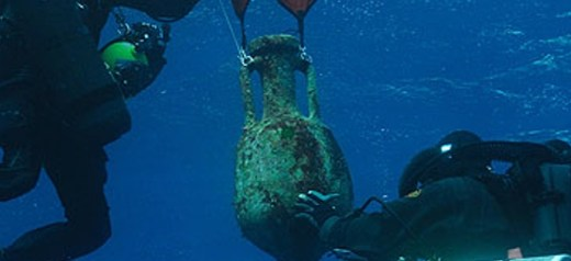 Lecture about the new underwater research at Antikythera