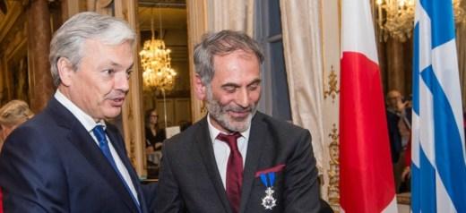 Βραβεύτηκε ο πρεσβευτής της ελληνικής κουζίνας στις Βρυξέλλες