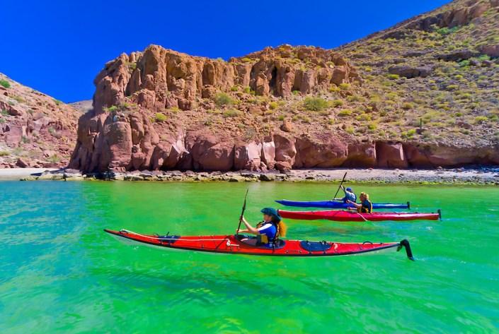 Kayaking Mexico's Sea of Cortez
