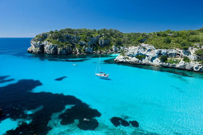 Cala Macarella, Menorca,
