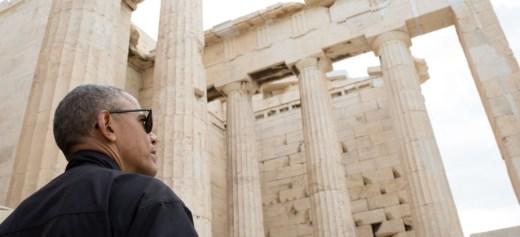 Η επίσκεψη Ομπάμα στην Αθήνα μέσα από τον φακό του Λευκού Οίκου