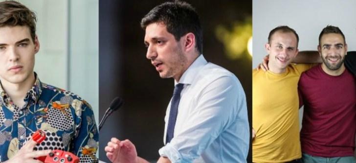 5 Έλληνες στους πιο επιτυχημένους νέους της Ευρώπης για το 2017