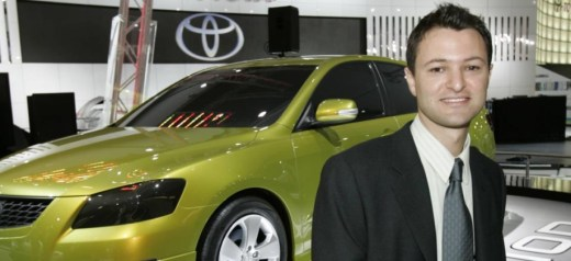 The head designer of Toyota in Australia