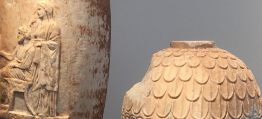 Greek archaeologist identified two ancient Greek vases on sale
