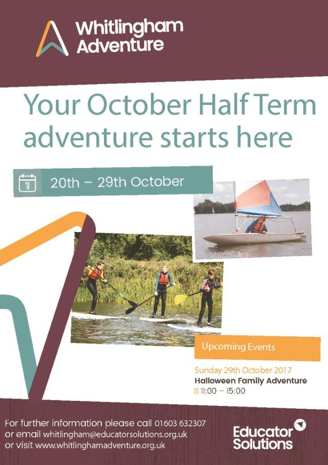 thumbnail of October Half Term Flyer FINAL