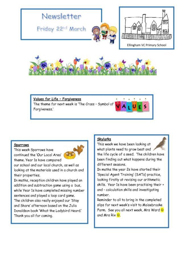 thumbnail of Newsletter 22.03.19